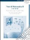 Note di matematica II per chimici. Teoria dei gruppi e applicazioni libro