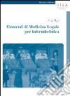 Elementi di medicina legale per infermieristica libro