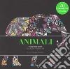 Animali. Colouring book antistress libro
