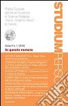 Studium personae. Rivista culturale dell'Istituto superiore di scienze religiose Mons. A. Pecci di Matera (2014) (1) libro