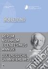 Bollettino di dottrina sociale della chiesa (2016). Vol. 4: Rerum novarum e centesimus annus: due encicliche, un anniversario libro