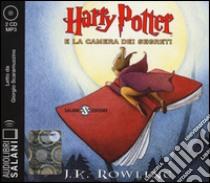 Harry Potter e la camera dei segreti letto da Giorgio Scaramuzzino. Audiolibro. 2 CD Audio formato MP3. Ediz. integrale  di Rowling J. K.