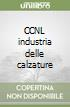 CCNL industria delle calzature libro