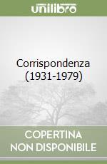 Corrispondenza (1931-1979) libro di McLuhan Marshall