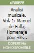 Analisi musicale (1) libro