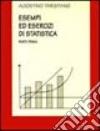 Esempi ed esercizi di statistica libro
