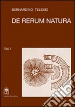 De rerum natura. Testo a fronte libro di Telesio Bernardino