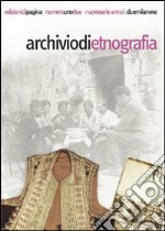Archivio di etnografia (2009) vol. 1-2 libro