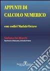 Appunti di calcolo numerico libro