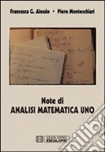 Note di analisi matematica. Vol. 1