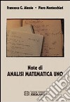 Note di analisi matematica. Vol. 1 libro