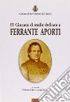 Quarta Giornata di studio dedicata a Ferrante Aporti libro