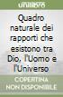 Quadro naturale dei rapporti che esistono tra Dio, l'Uomo e l'Universo libro