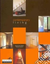 Contemporary living libro di San Pietro Silvio - Gallo Paola