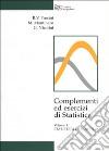 Complementi ed esercizi di statistica (1) libro