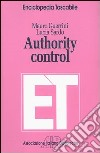 Authority control libro