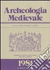 Archeologia medievale (8) libro