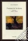 Poemas de la tierra libro