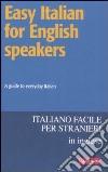 Easy italian for english speakers
