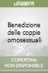 Benedizione delle coppie omosessuali libro