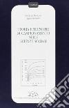 Teoria e tecniche di campionamento nelle scienze sociali libro