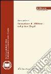 La nozione di «Bildung» nel primo Hegel libro