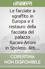 Le facciate a sgraffito in Europa e il restauro della facciata del palazzo Racani-Arroni in Spoleto. Atti della Giornata di studio libro