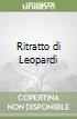 Ritratto di Leopardi libro