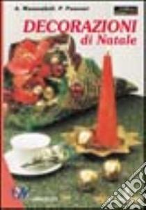 Decorazioni di Natale libro di Massenkeil Angelika - Panesar Pammi