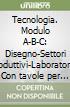 Tecnologia. Modulo A-B-C: Disegno-Settori produttivi-Laboratorio. Con tavole per il disegno. Per la Scuola media. Con CD-ROM (1) libro