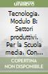 Tecnologia. Modulo B: Settori produttivi. Per la Scuola media. Con CD-ROM libro