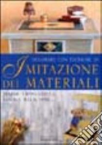 Decorare con tecniche di imitazione dei materiali libro di Alio Giuliana - Crolle Roberta - Karrara Aziza