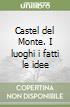 Castel del Monte. I luoghi, i fatti, le idee libro