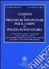Sanzioni e procedure disciplinari per il corpo di polizia penitenziaria libro