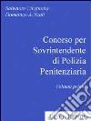 Concorso per sovrintendente di polizia penitenziaria (1)