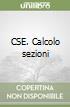 CSE. Calcolo sezioni libro