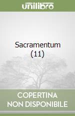 Sacramentum (11) libro