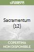 Sacramentum (12) libro