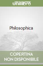 Philosophica (2) libro