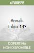 Annali. Libro 14 libro