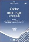 Codice tributario essenziale libro