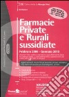 Farmacie private e rurali sussidiate