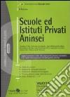Scuole ed istituti privati Aninsei libro