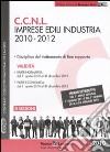 CCNL imprese edili industria 2010-2012