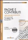Paghe e contributi. Con CD-ROM libro