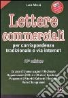 Lettere commerciali per corrispondenza tradizionale e via internet libro