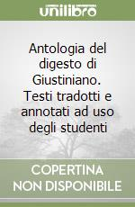 Antologia del Digesto di Giustiniano libro