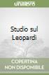 Studio sul Leopardi libro