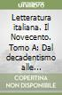 Letteratura italiana. Per le Scuole superiori (3/1) libro