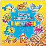 Impara i numeri con i Neptoons libro di Werner Gerhard